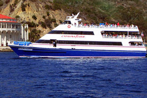 Catalina Flyer Cross Chanel Catamaran transportation